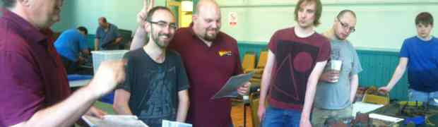 Warlord Games visit Warlords of Walsall . . . it was meant to be!